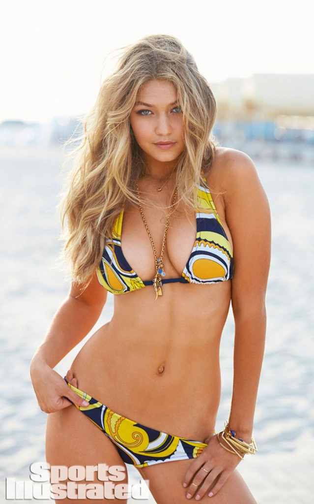 Gigi Hadid Sports Illustrated Swimwear