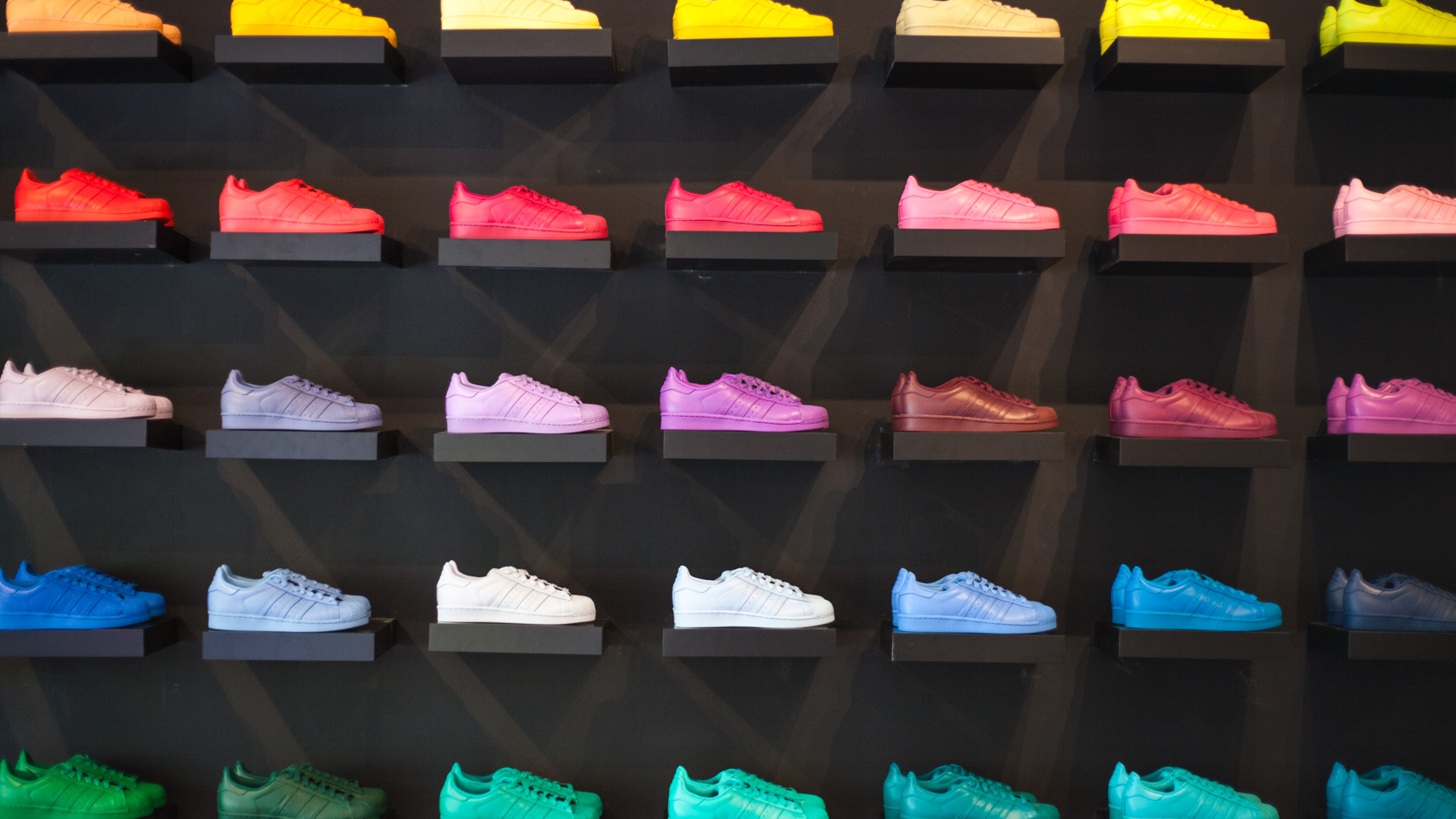 f1d444946322d Team LWA was lucky enought to be invited down to preview the adidas x  Pharrell Williams  Supercolor  pack
