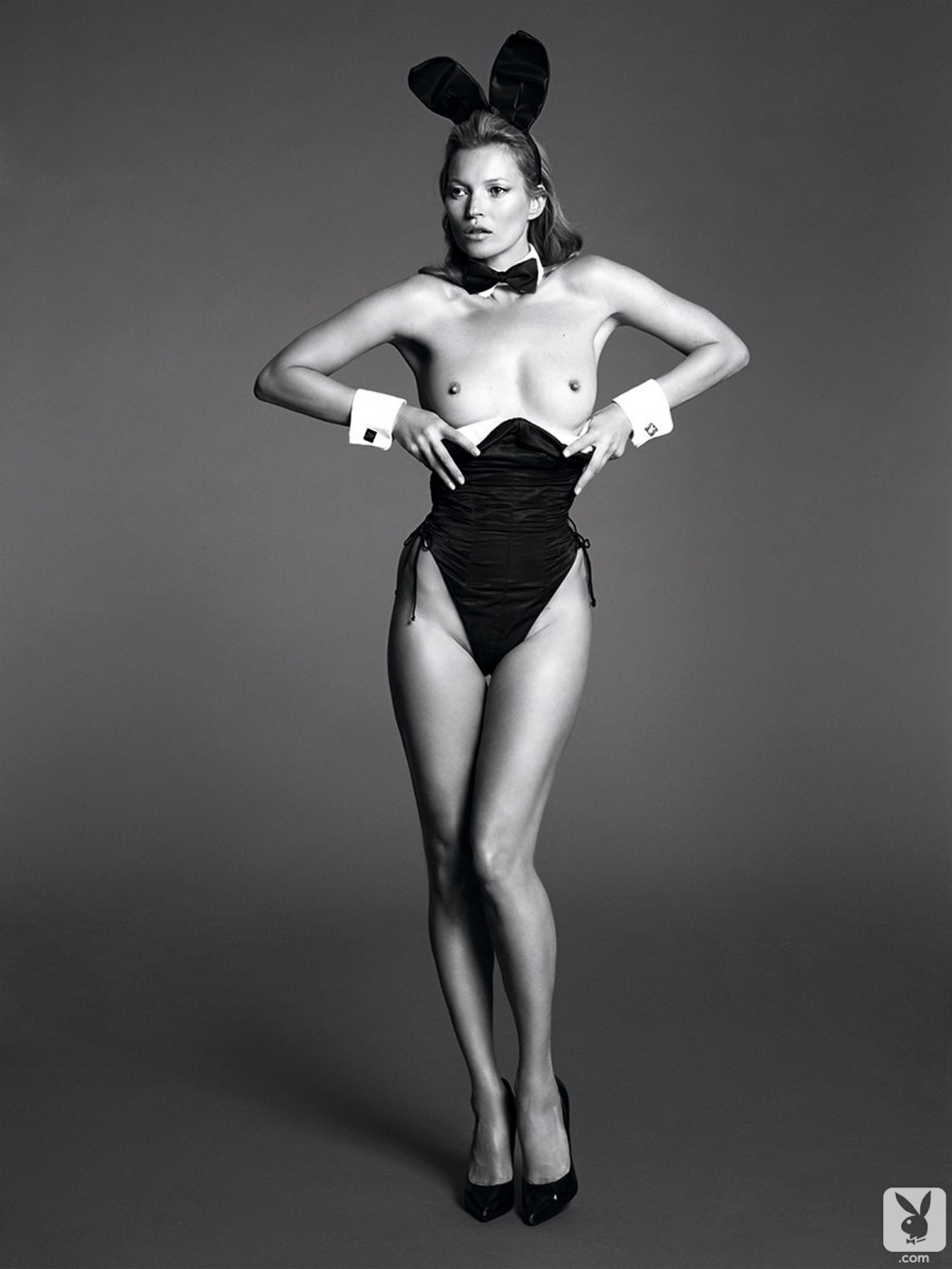 Happy Easter Heres Kate Moss As A Playboy Bunny -6129