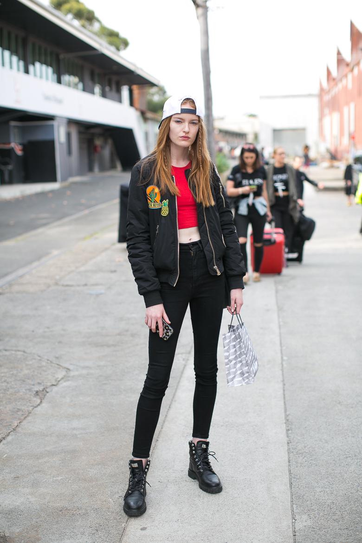 5- Brooke Durant - off duty Model