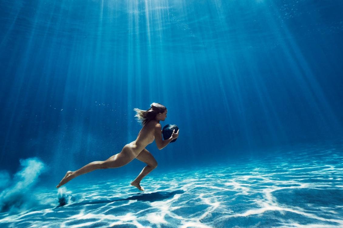 Playboy Playmate April Eve Topless Bikini Shoot