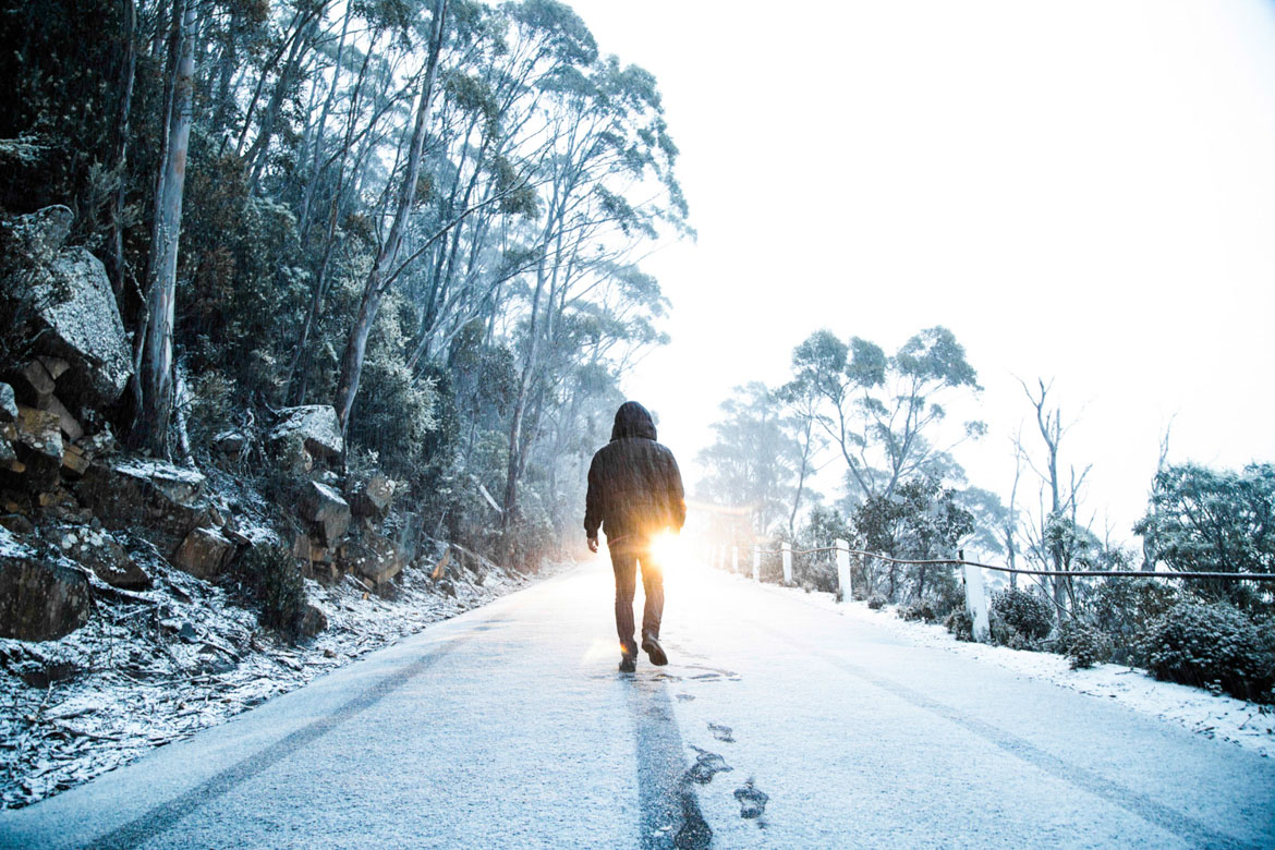 a-spontaneous-trip-up-mt-wellington-with-my-brother-got-us-caught-in-a-small-blizzard