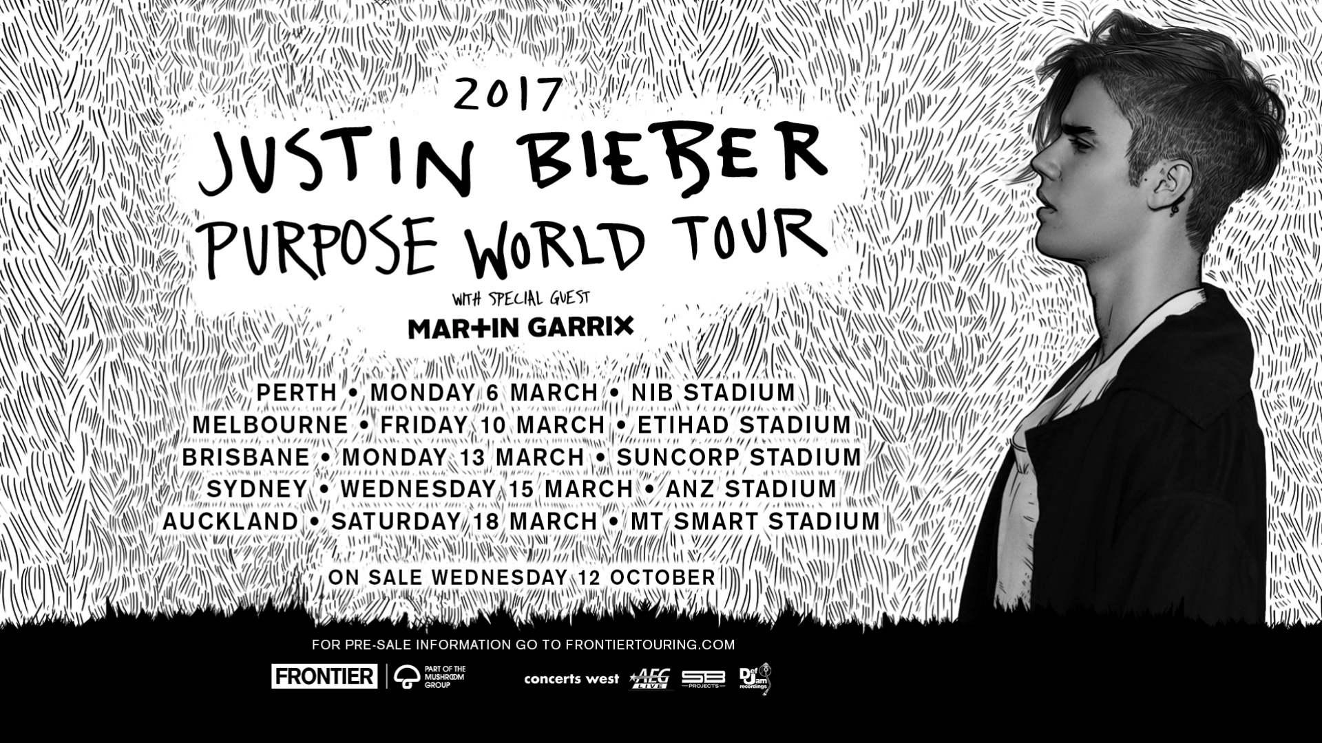 Justin bieber tour dates 2019 in Melbourne