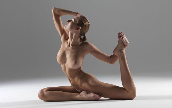 йога фото обнаженная