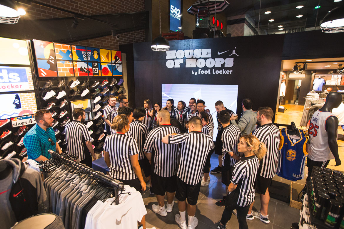 reputable site 3a507 58363 Foot Locker  House Of Hoops Opening   George St, Sydney - lifewithoutandy