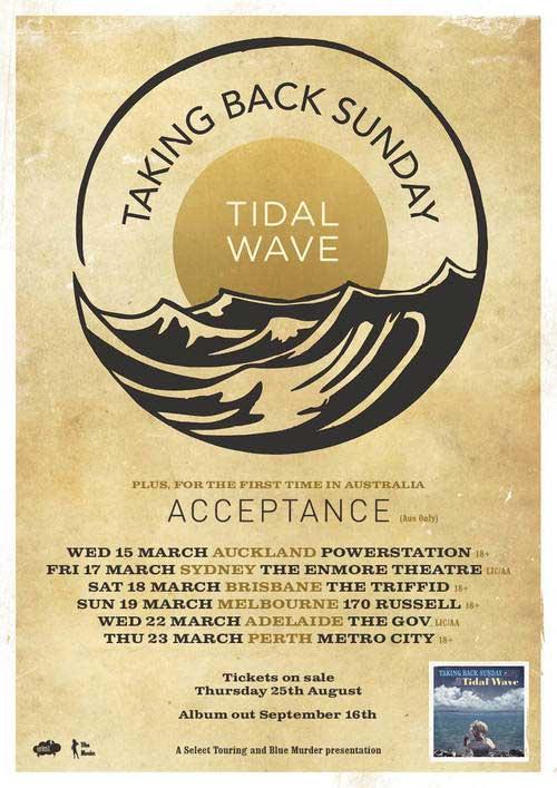 Taking-Back-Sunday-Acceptance-Australian-Tour-March-2017