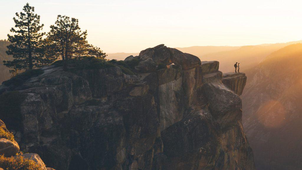 2. Yosemite sunset