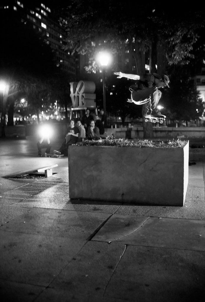 Bryce Golder - Frontside 180. Philadelphia, USA 2013