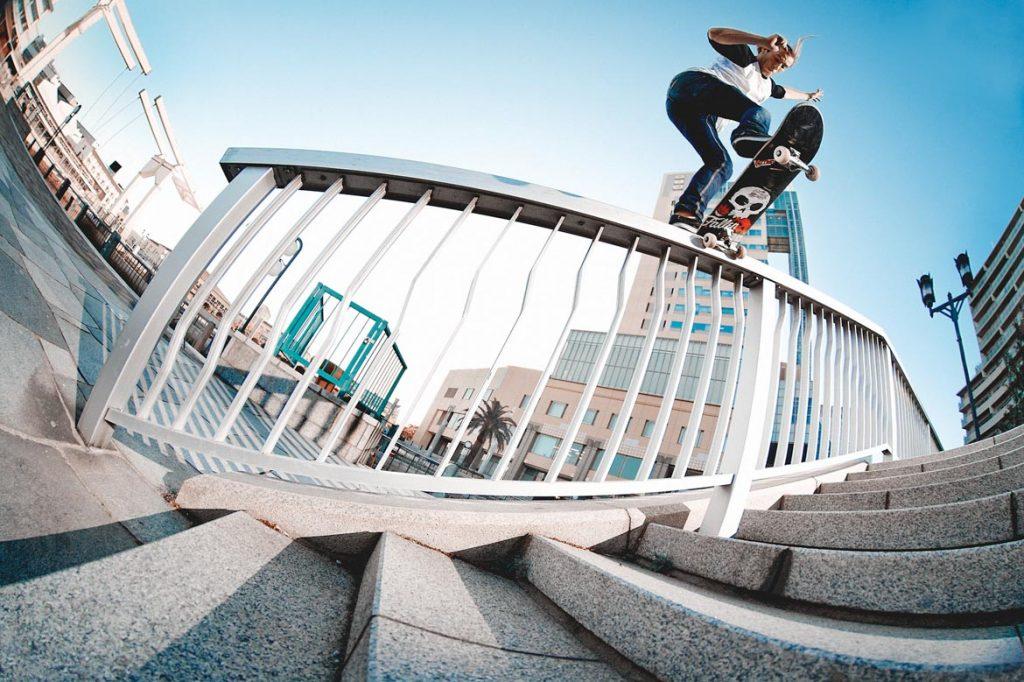 Dane Burman - Backside tail. Kobe, Japan 2012