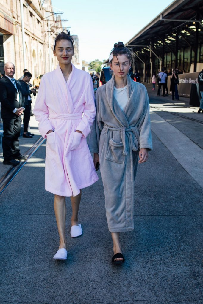 6 - Off Duty Models wearing robes-1
