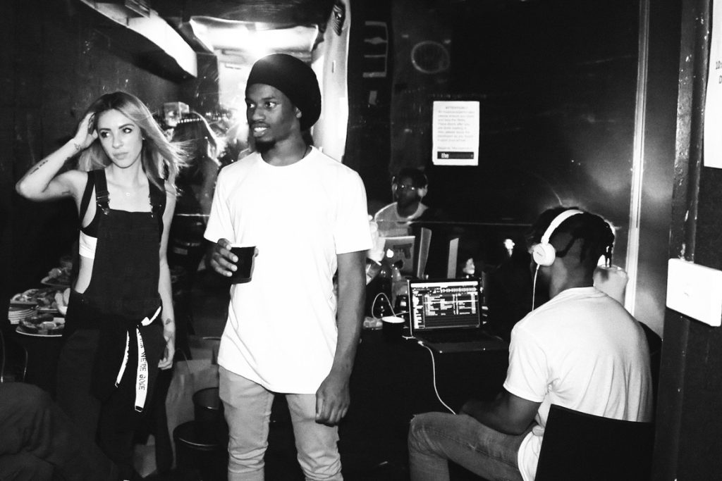Alison Wonderland and Denzel Curry very interested in something