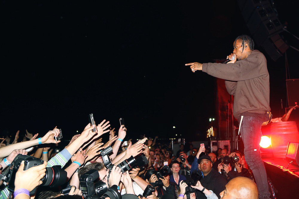Everyone wants a piece of Travis $cott_