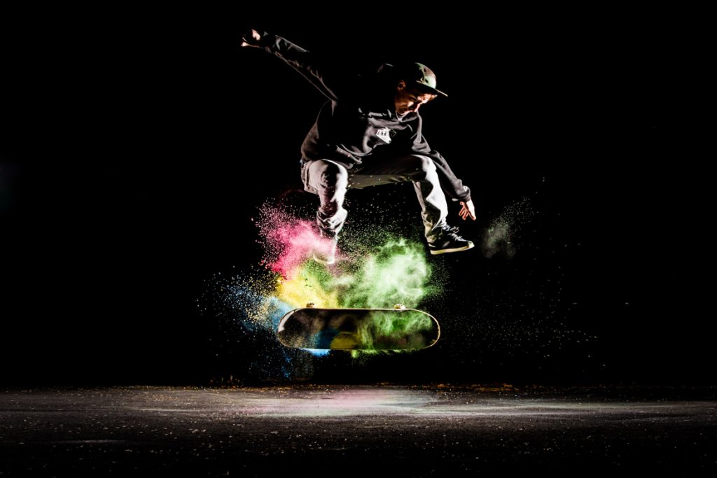 Quade Rocke-Kickflip in Color