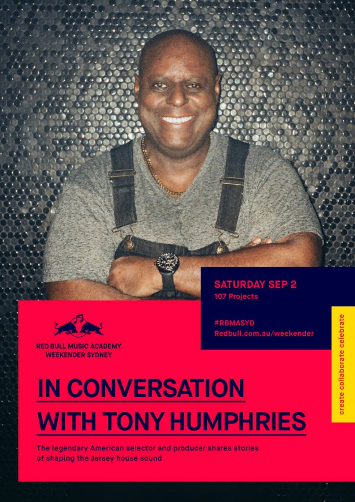 In Coversation - Tony Humphries