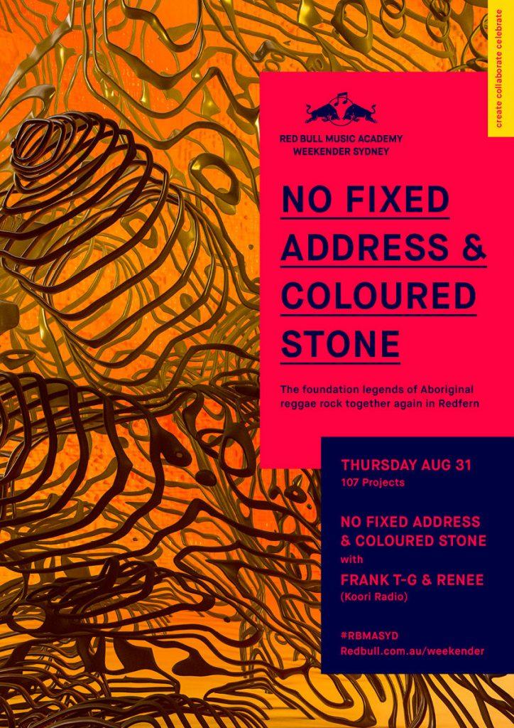 No Fixed Address & Coloured Stone