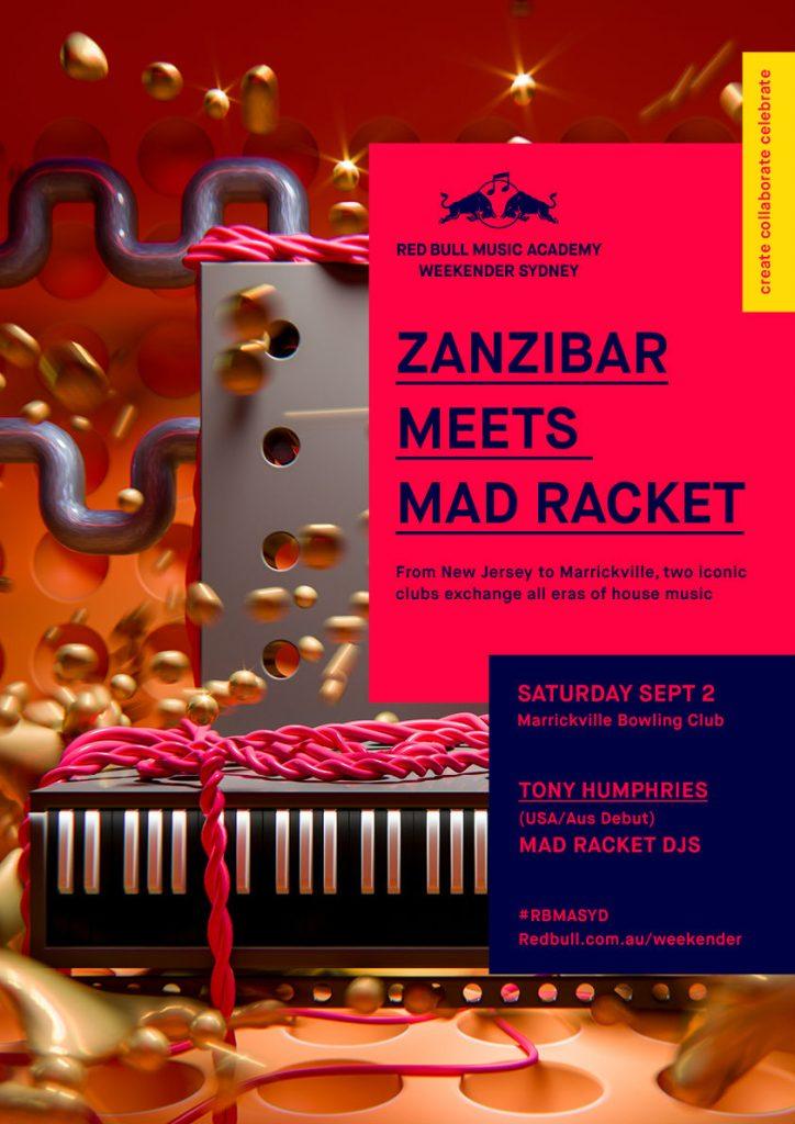 Zanzibar Meets Mad Racket
