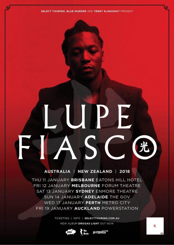 Lupe Fiasco Announces Australian Tour For January 2018 ...