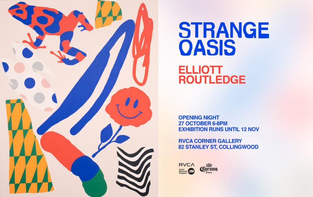 RVCA x Elliott Routledge 'Strange Oasis' (1)
