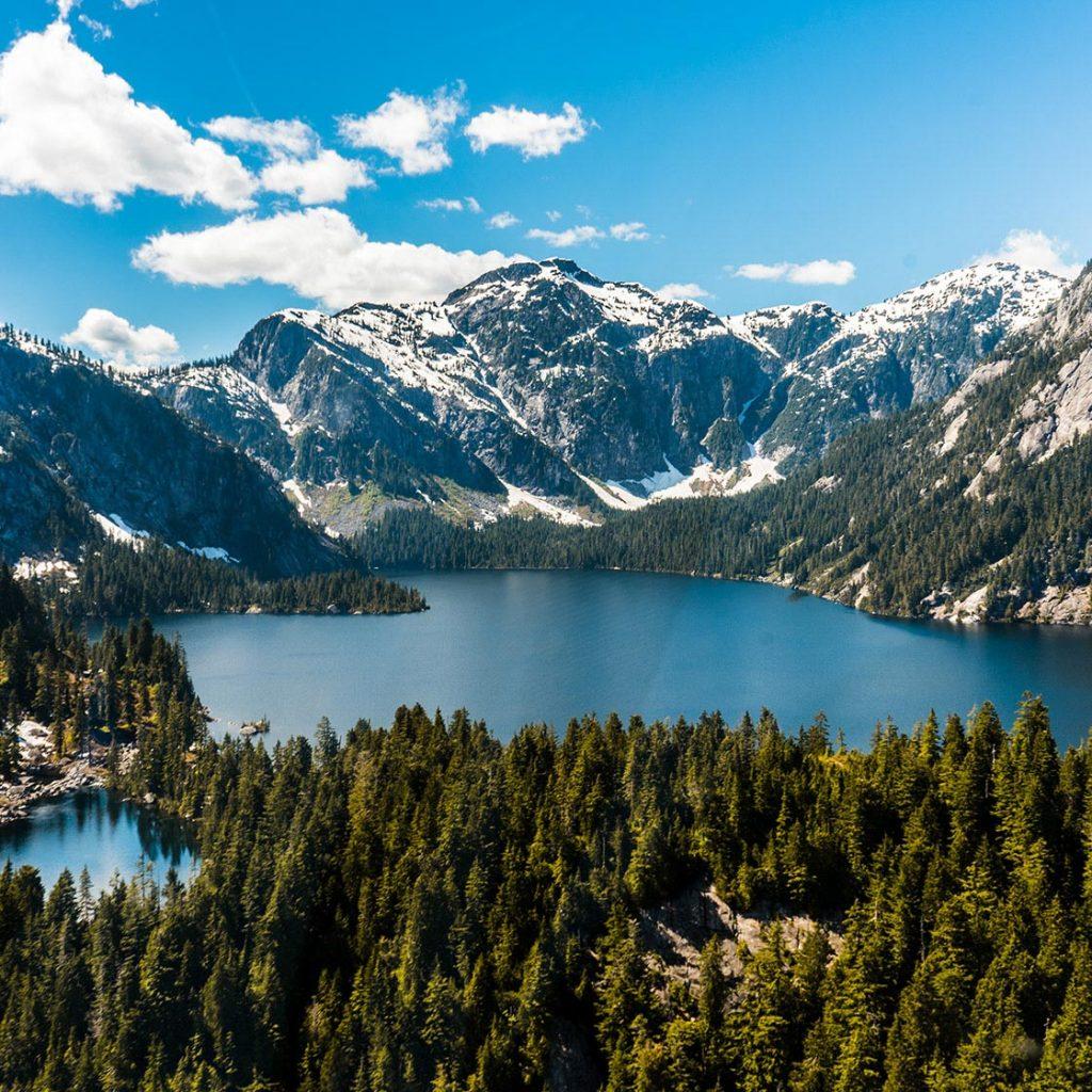 Coast Mountains, Vancouver
