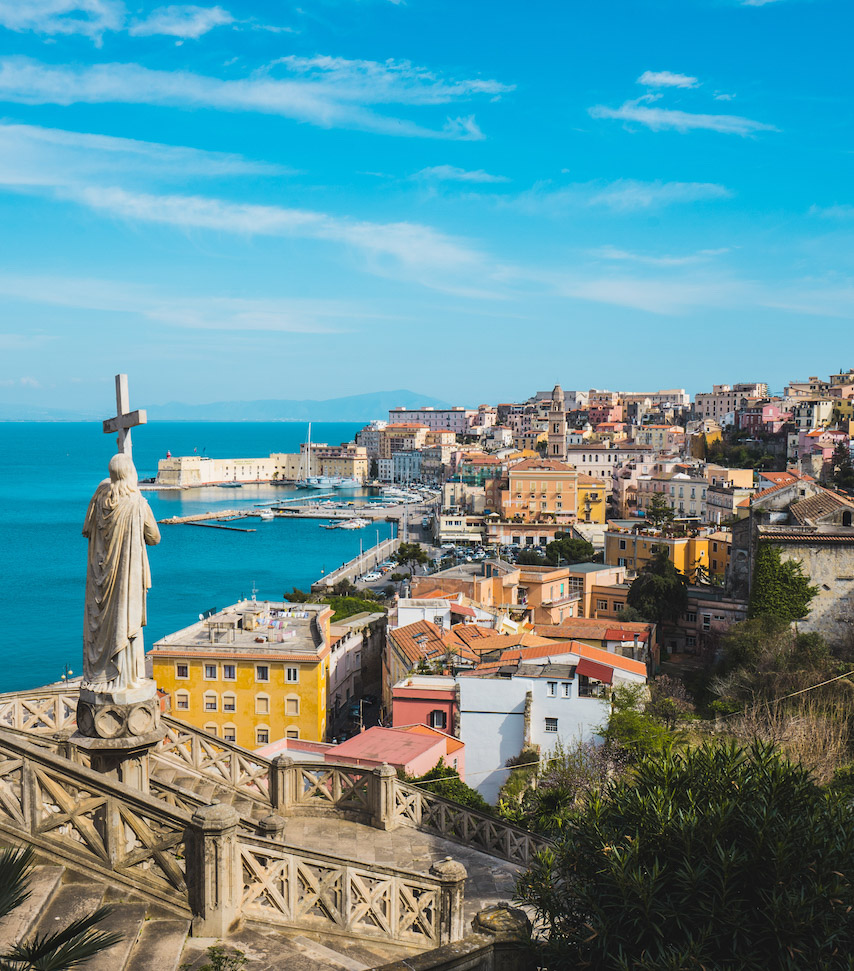 Italy's hidden gem, Gaeta. A small town on the coast of Italy