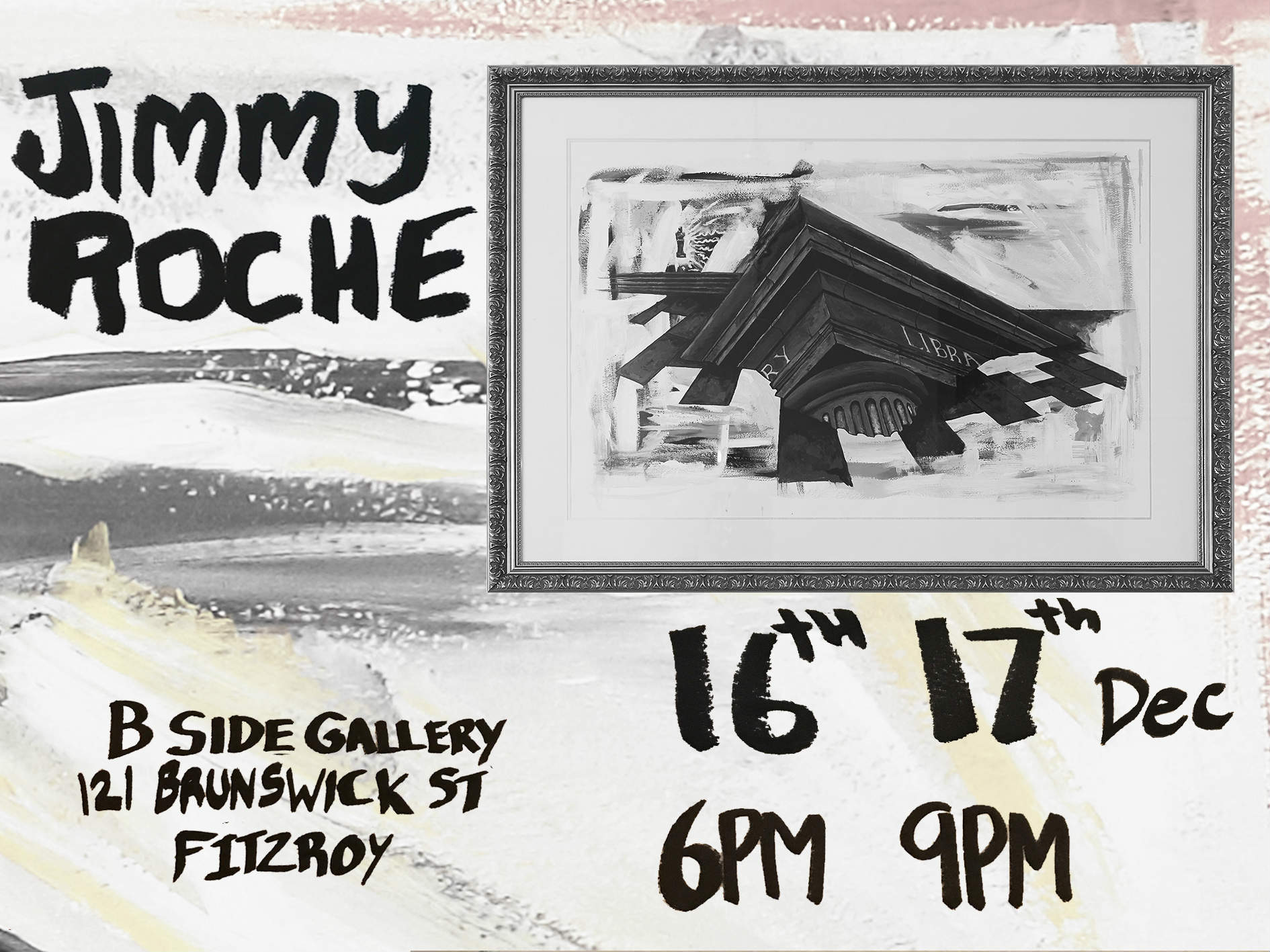 Jimmy Roche poster