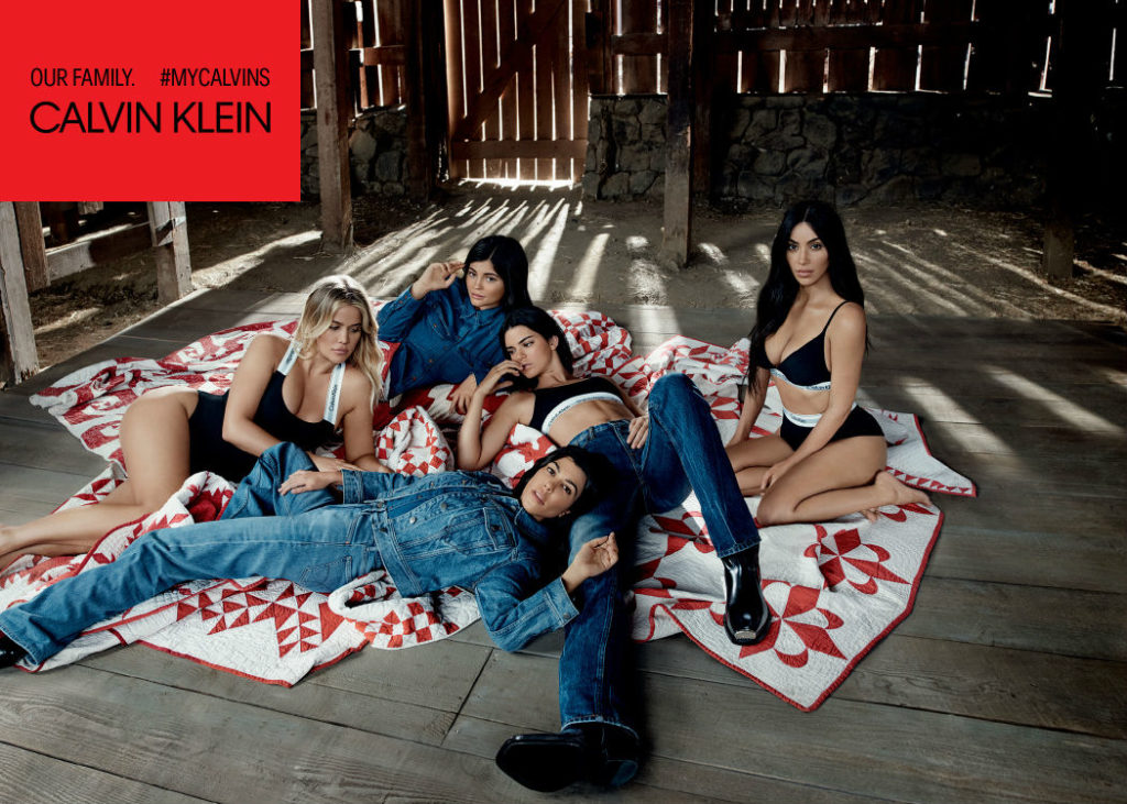 Calvin Klein Recruits The Kardashians For Mycalvins