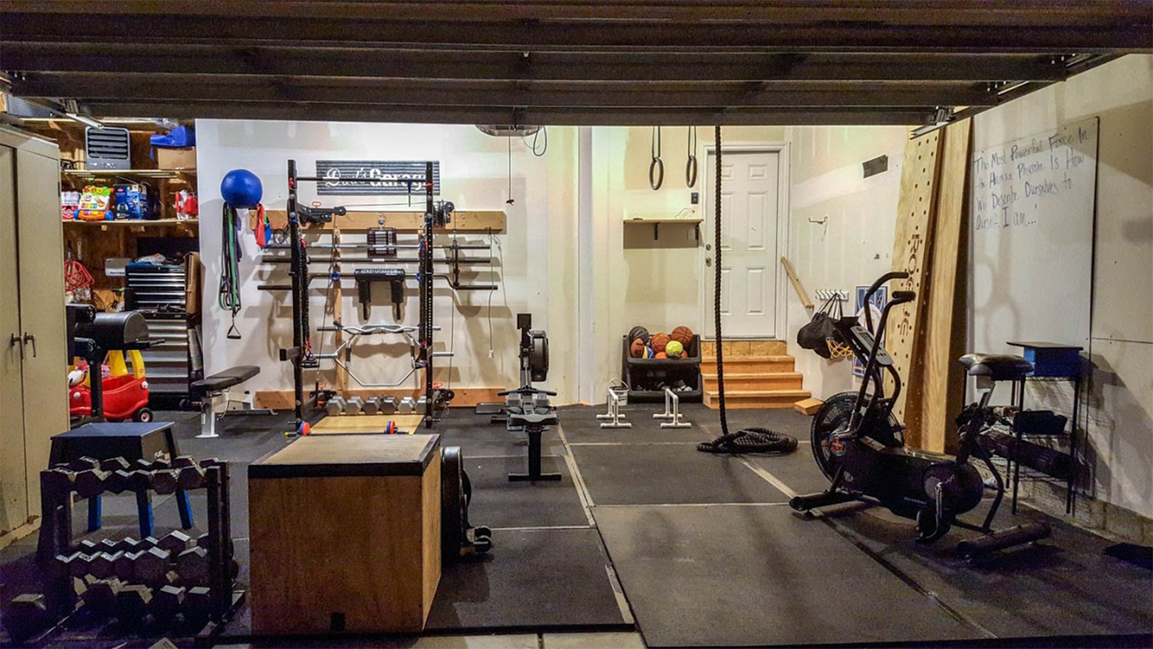 A Scaffolder Is Building Home Gyms So People Can Train ...