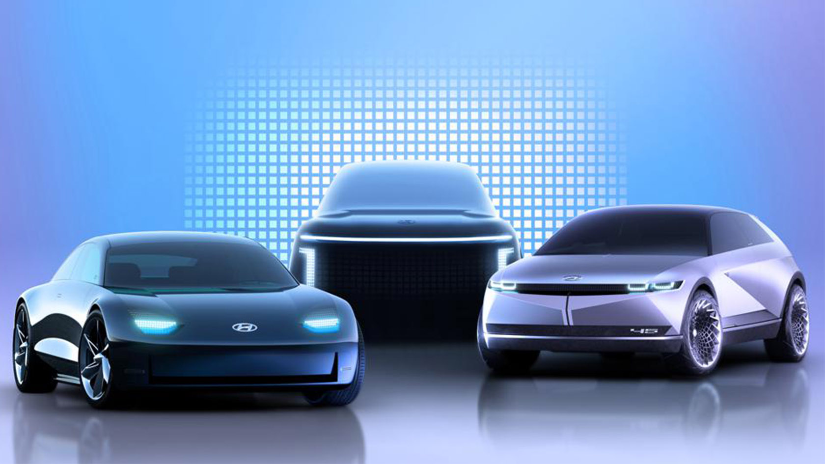 Hyundai Unveils New Brand For Super-Sleek Electric Cars ...